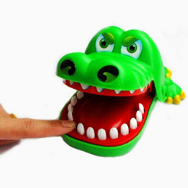 Big Mouth Crocodile Biss Finger Lustige Eltern Kind pädagogisches Spielzeug Coole Gadgets