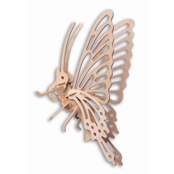 Butterfly 3D Træ Puslespil Wood Craft Construction Forsamling Kit Model Byggesæt