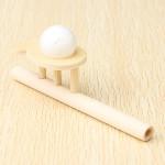 Kinder pädagogisches Spielzeug aus Holz treiben Ball Spiel Spiel