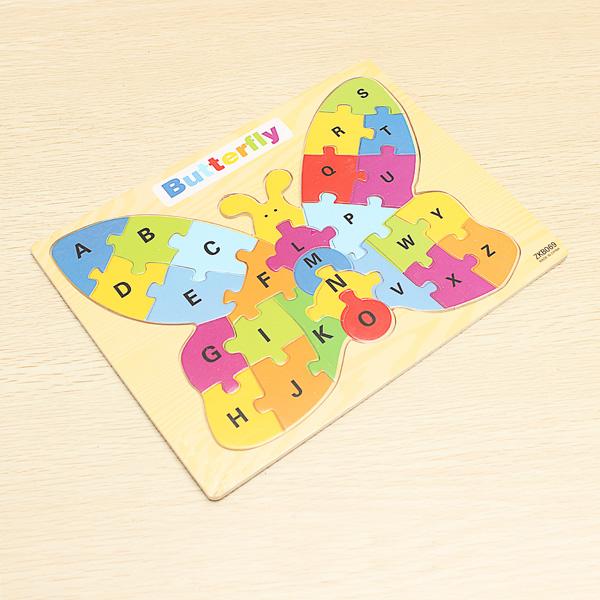 Kinder Bildungs Spielzeug Schmetterling Puzzle Lernspiele