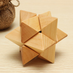 Classical Intellectual Toys Kong Ming Lock Eight Corners