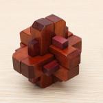 Klassische Intellectual Spielzeug Kong Ming Lock Holz Seal Verschluss Lernspiele