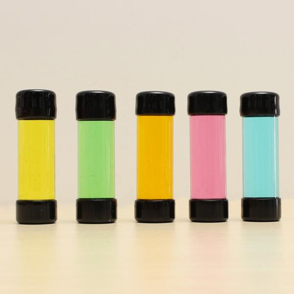 Färgglada Ferrofluid Magnetisk Flytande Flaska Stress Tillande Leksak Coola Prylar
