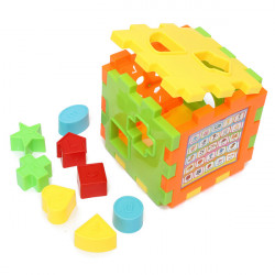 Colorful Intelligence Box Toys Educational Great Shape Sorting