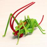 Cricket DIY Farverige Puslespil Pædagogisk Legetøj til Børn Pædagogisk Legetøj