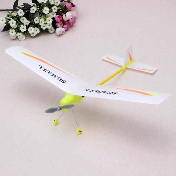 DIY Enkel Montering El Airplane Spel & Lek
