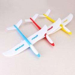 DIY Funny Lightweight Foam Airplane Hand Throwing Glider Model Plane