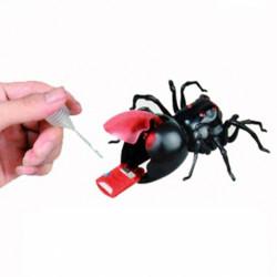 DIY Green Energy Utbildnings Saltvatten Bränsle Effekt Moving Spider Leksaker