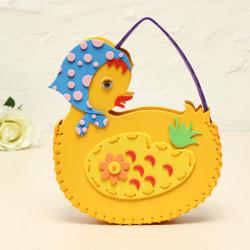 DIY Håndlavede Dyr Duck Tasker Syning EVA Håndtasker