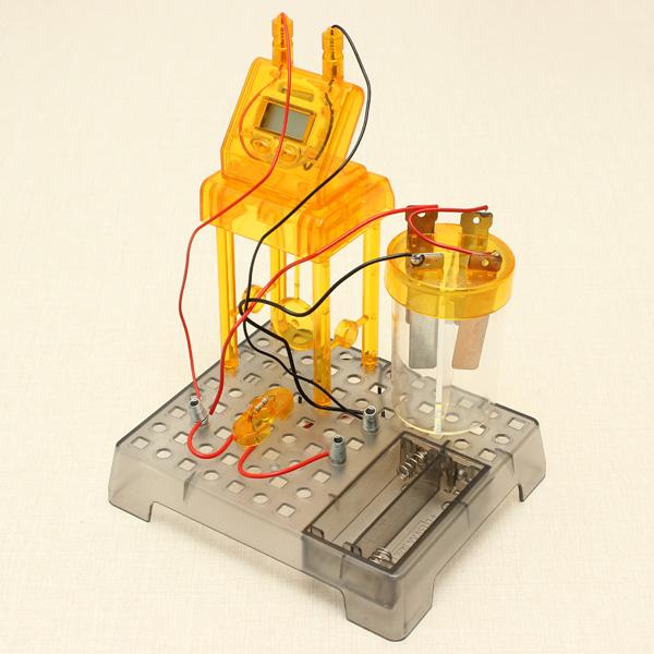 Eastcolight DIY Flüssigkeit Powered Clock Wissenschaft Lernspielzeug Puzzle Lernspiele