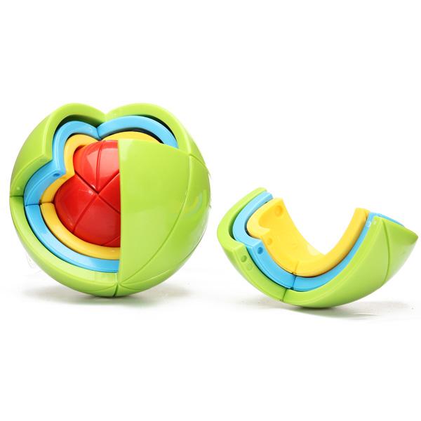 Bildungs Kunststoff 3D Ball Spiel Puzzlespiel baute Blockspielzeug Lernspiele