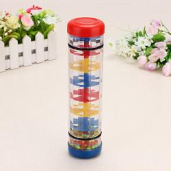 Educational Toys Rain Sound Rainbow Hourglass Plastic Toys