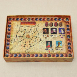 Egypt Archaeology Mykerinos Board Game Social Game