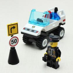 Barricade Vägspärr Kommando Bil Lego Byggklossar Lära Leksak