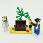 Erleuchten Ziegelstein Menschliches Skelett Abenteuer Blöcke Piraten Reihen Spielzeug Lernspiele