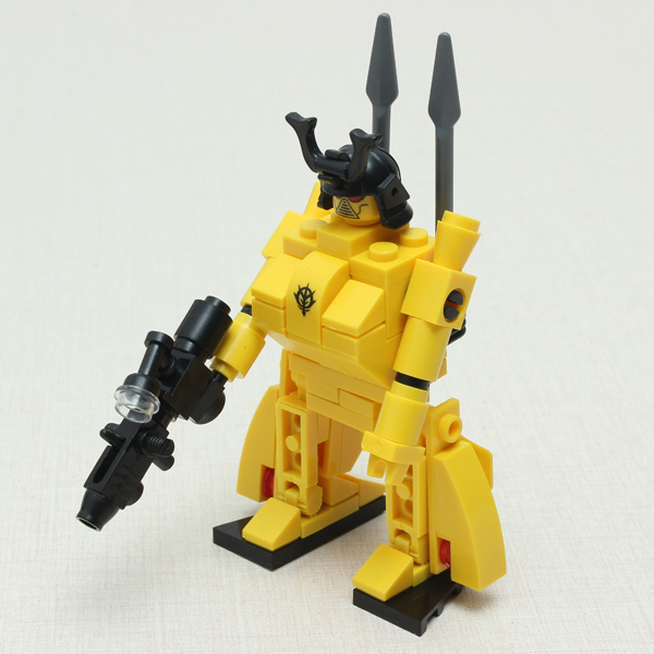 Enlighten Flame Hero Golden Warrior Robot Blocks Educational Toy Educational Toys