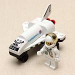 Mini Rymdfärja Rymdfarkoster Plan Pedagogiska Leksaker för Barn Pedagogiska Leksaker