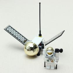 Erleuchten Satelliten Libelle Art Montageblöcke pädagogisches Spielzeug