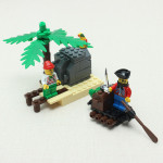 Enlighten Treasure Transit Station Offshore Terminal Pirate Blocks Legetøj Pædagogisk Legetøj