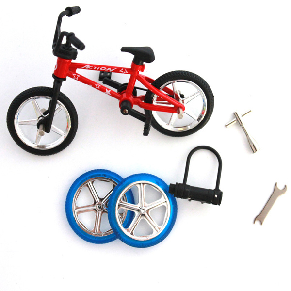 Finger Bicycle Bike Mini Toy Alloy Multi-color Kids Gift sports Game & Scenery Toy