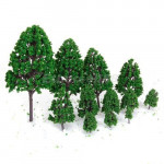 Green Scenery Landscape Model Tree Forest Scale O Game & Scenery Toy