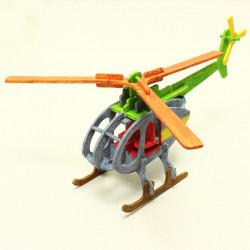 Hubschrauber DIY Bunte Puzzle pädagogisches Spielzeug für Kinder