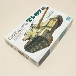 Hobbyboss Trumpeter Isreal Ti 67 105mm Gun 1/35 Militär Panzer