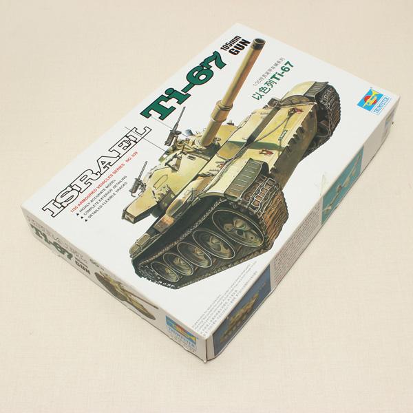 Hobbyboss Trumpeter Isreal Ti-67 105mm Gun 1/35 Militär Tank Modellbyggsatser