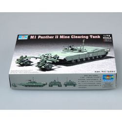 Hobbyboss Trumpeter  M1 Panther II Mine Clearing Tank Military Tank 1/72