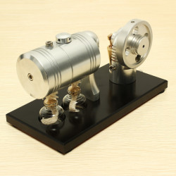 K005 Hot Air Stirling Engine Motor Generator Education Toy Kits
