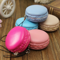 Kawaii Soft Dessert Squishy Cute Cell Phone Accessories
