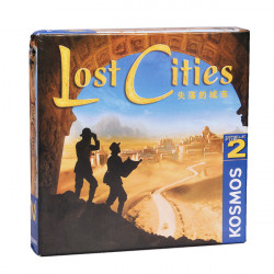 Lost Cities Bræt Game Card for Gathering Party