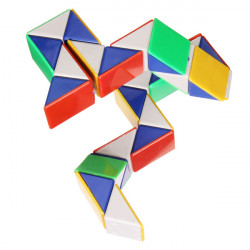 Magic Toy Game 3D Snake Cube Puzzle