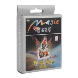 Magic Legetøj Tricks Kits Sjov Kong Card