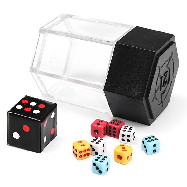 Zaubertrick Prop Explosion Würfel Farbwechsel Größe mit Anleitung Spiel