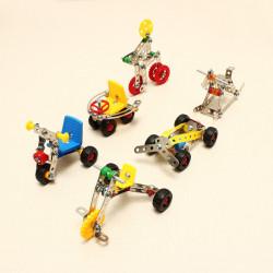 Magische Modell DIY Metallbefestigungsautometallblöcke Lernspielzeug