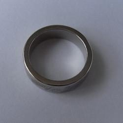 Magnet Magnetisk Ring med Marks Størrelse S Sølv
