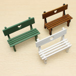 Mini Chair Heart-formede Stil Fotografi Props Coola Gadgets