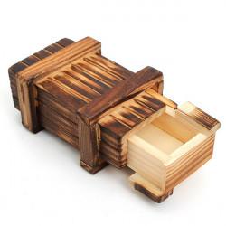 Mini Fach Holz Geheimnis Spielzeug Magie Puzzle Box