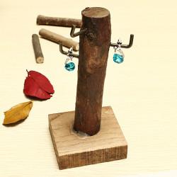 Mini Stump Table Photo Redskaber Smykker Frame Træ Set