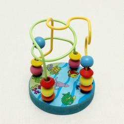 Mini Draht Labyrinth Bildungsperlen tragen Pilze Nägel Ausbildung spielt