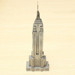 PIECECOOL Empire State Building 3D Laser Cut Models Puzzle