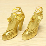 PIECECOOL High-Heeled Sandals DIY 3D Laser Cut Models Puzzle Toys Model