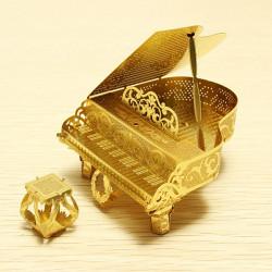 PIECECOOL Piano DIY 3D Laser Cut Modeller Puslespil