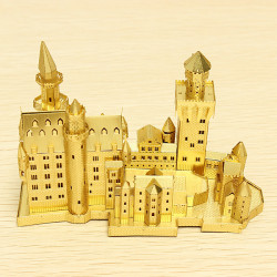 Piececool Neuschwanstein DIY 3D Laser Cut Modeller Pussel