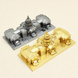 Piececool Amerikanska Kongressen DIY 3D Laser Cut Modeller Pussel
