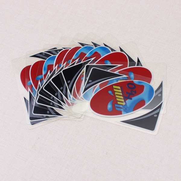 Kunststoff transparent Wasserdicht UNO Kartenspiel Family Fun Poker Card Lernspiele