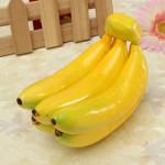 Realistisk Banana Naturtro Foam Simulation Fake Frugt Display Legetøj Coola Gadgets