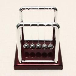 Lille Størrelse Newtons Cradle Steel Balance Bold Physics Pendulum