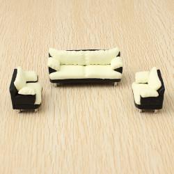 The Model Material Indoor Scene Decoration Sofa Set 1:30